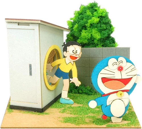 Sankei MP08-14 Doraemon Mini Pass Loop Non-Scale