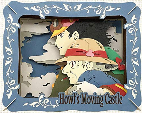 Ensky Jigsaw Puzzle PT-166 Paper Theater Studio Ghibli Howl's Moving Castle Determined Eyes