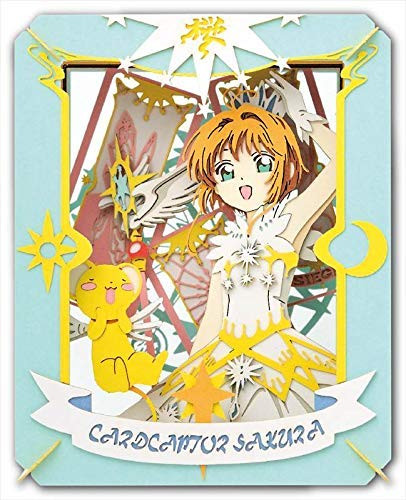 Ensky Jigsaw Puzzle PT-162 Paper Theater Card Capters Sakura and Kero