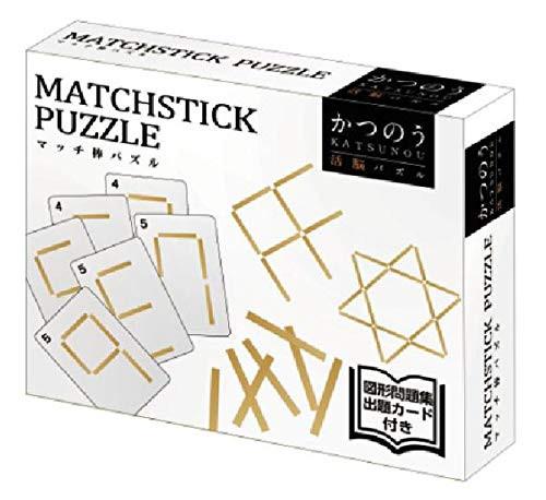 Hanayama Cast Huzzle (Puzzle) Match Stick  Puzzle