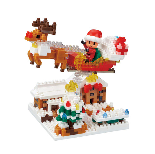 Kawada NBH191 nanoblock Story Collection Christmas Night