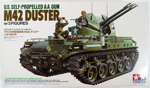 Tamiya 35161 US Self-Proprlled M-42 Duster w/Figure x 3 1/35 Scale Kit