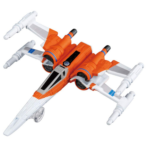 Takara Tomy Tomica Disney Star Wars X-Wing Fighter Poe The Rise Of Skywalker (4904810141204)
