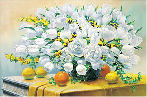 APPLEONE Jigsaw Puzzle 2000-045 Good Luck Flowers (2000 Pieces)