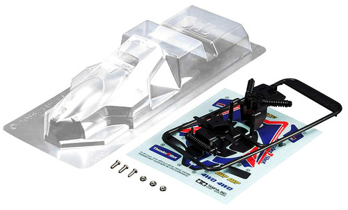 Tamiya 15502 Mini 4WD Thuder Shot Clear Body Set (Polycarbonate)