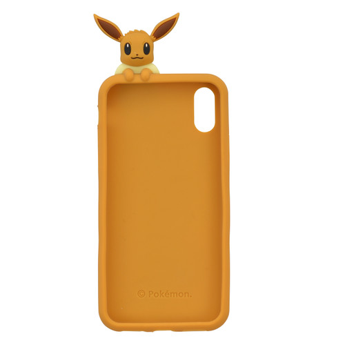 Pokemon Center Original Silicone Case for iPhone Xs / X Peek a boo Eevee