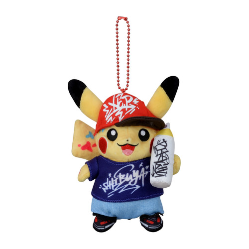 Pokemon Center Original Mascot Pokemon Center Shibuya Graffiti Art Pikachu Graffiti Artist