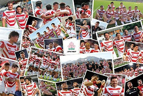 Epoch Jigsaw Puzzle 78-306s Rugby Japanese Team Photo Collection