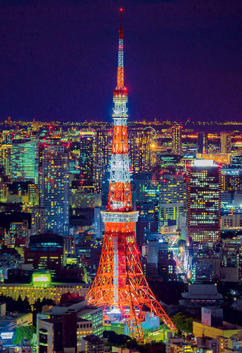 Beverly Jigsaw Puzzle 93-151 Tokyo Tower (300 Pieces)