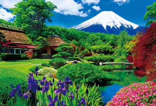 Beverly Jigsaw Puzzle M81-585 Japanese Scenery Oshino Fuji (1000 S-Pieces)