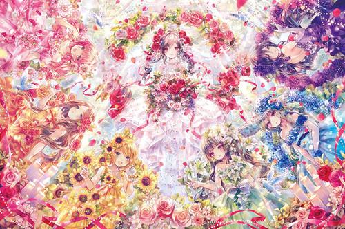 Epoch Jigsaw Puzzle 11-595 Onineko Wedding Story (1000 Pieces)
