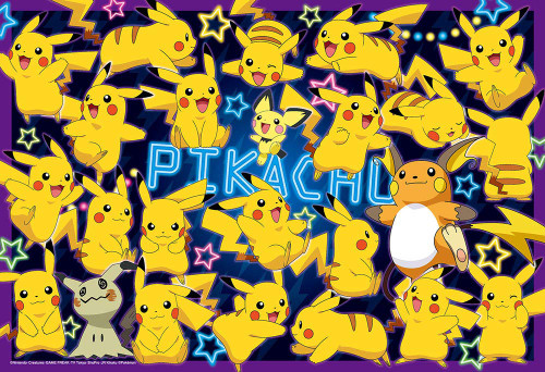 Beverly Jigsaw Puzzle 80-011 Pikachu Everywhere (80 L-Pieces)