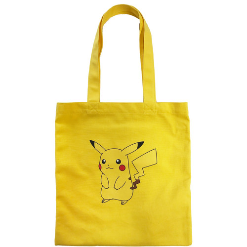 Pokemon Center Original Color Tote Bag Pikachu
