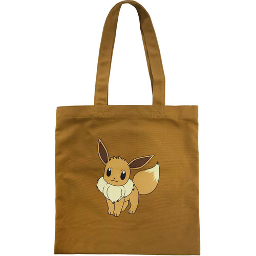 Pokemon Center Original Color Tote Bag Eevee