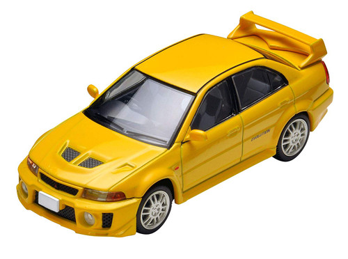 Tomytec LV-N187a Tomica Limited Vintage Lancer GSR Evolution V Yellow 1/64