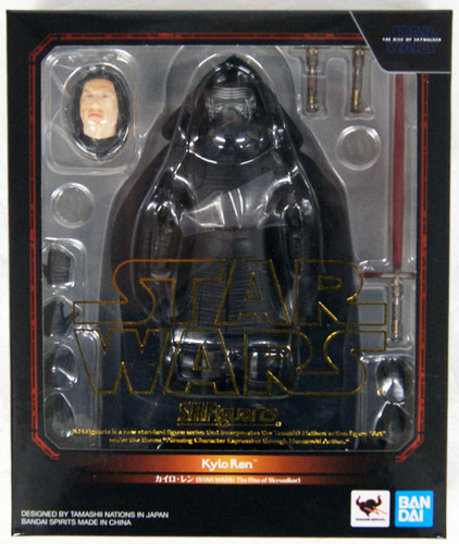 Bandai S.H. Figuarts Kylo Ren Figure (Star Wars: The Rise of Skywalker)