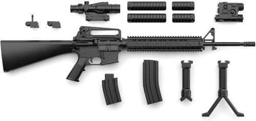 Tomytec LA056 Military Series Little Armory  Little Armory M16A4 Type 1/12 Scale Kit