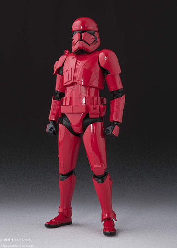 Bandai S.H. Figuarts Sith Trooper Figure (Star Wars: The Rise of Skywalker)