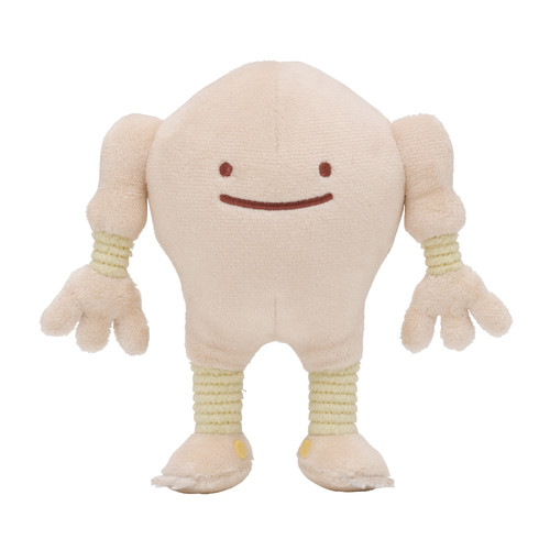 Pokemon Center Original Plush Doll Ditto Metamon Hitmonlee (Sawamura)