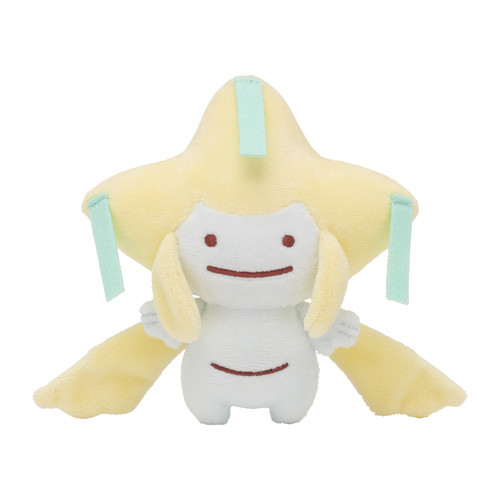 Pokemon Center Original Plush Doll Ditto Metamon Jirachi
