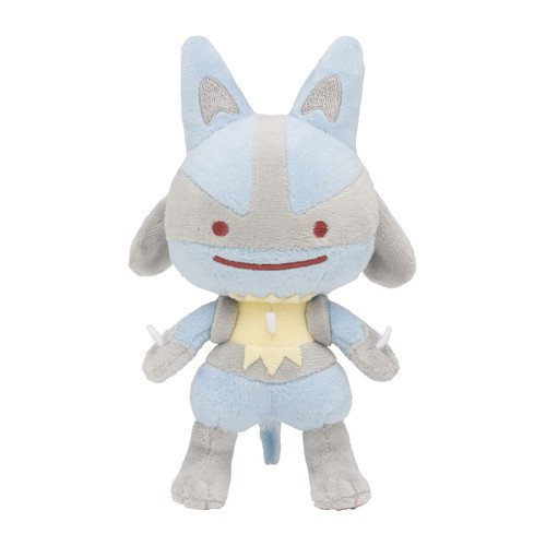 Pokemon Center Original Plush Doll Ditto Metamon Lucario