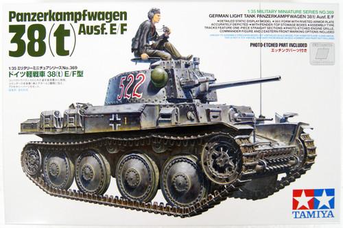 Tamiya 35369 German Panzerkampfwagen 38(t) Ausf.E/F 1/35 scale kit