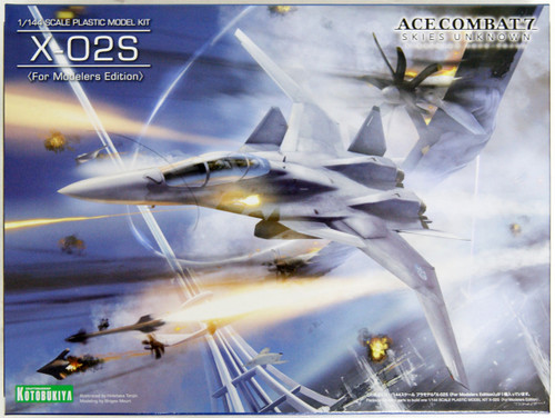 Kotobukiya KP491 Ace Combat 7 Skies Unknown X-02S 1/144 Scale Plastic Model Kit