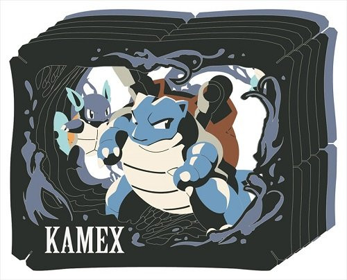 Ensky Paper Theater PT-023 Pokemon Blastoise