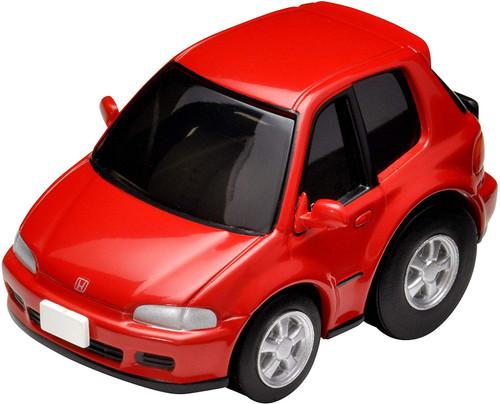 Takara Tomy Z-61a Choro Q Zero Honda Civic SiR-II Red