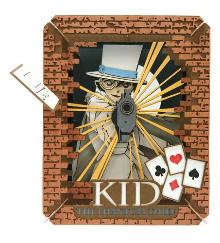 Ensky Paper Theater PT-074 Detective Conan Kid the Phantom Thief