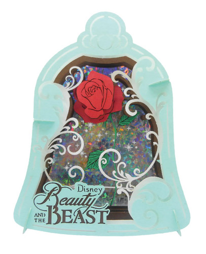 Ensky Paper Theater PT-076 Disney Beauty and the Beast Magical Rose