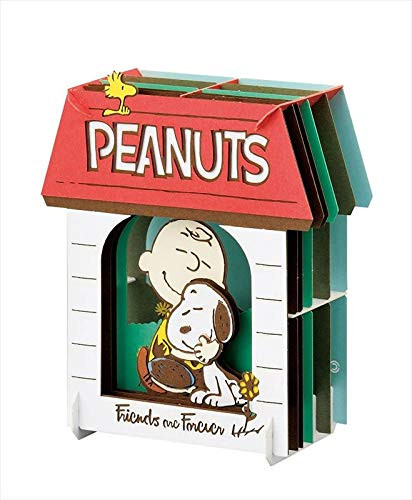 Ensky Paper Theater PT-137 Peanuts Friends are Forever