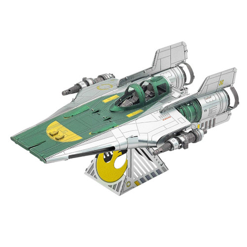 Tenyo Metallic Nano Puzzle W-ME-037M Star Wars Resistance A-Wing Fighter