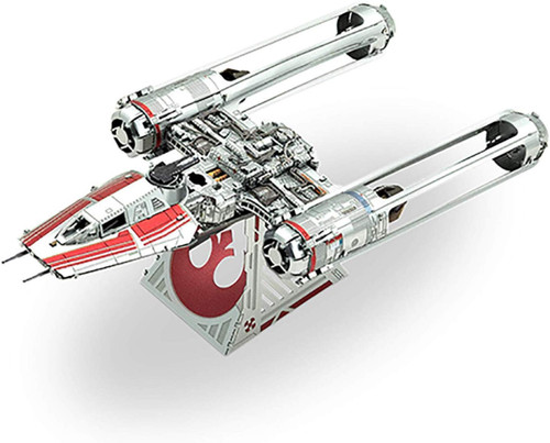 Tenyo Metallic Nano Puzzle W-ME-038M Star Wars Zorii's Wing Fighter