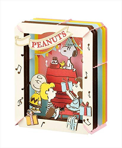 Ensky Paper Theater PT-138 Peanuts Happy Birthday