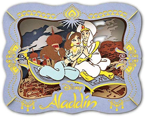 Ensky Paper Theater PT-143 Disney Aladdin A Whole New World