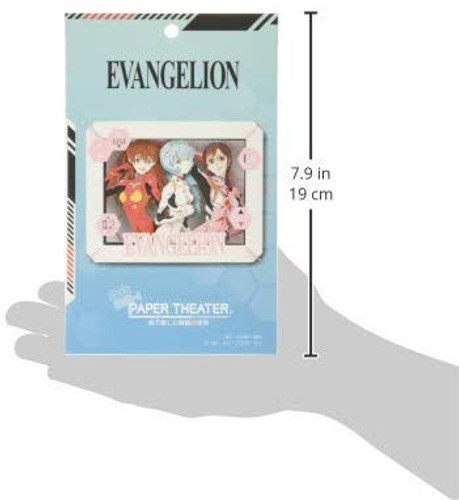 Ensky Paper Theater PT-155 Evangelion Rei, Asuka, Mari