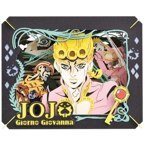 Ensky Paper Theater PT-156 JoJo's Bizarre Adventure Golden Wind Giorno Giovanna