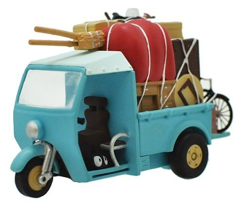 Ensky Pull Back Collection Studio Ghibli My Neighbor Totoro Motor Tricycle