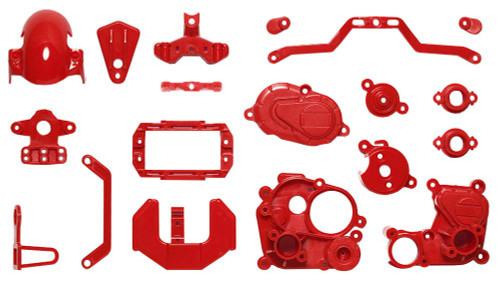 Tamiya 54916 (OP1916) T3-01 A Parts Gear Box Red