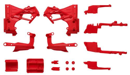 Tamiya 54918 (OP1918) T3-01 C Parts Frame Red