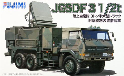Fujimi 72M12 JGSDF 3 1/2t Truck w/Fire Control System 1/72 Scale Kit