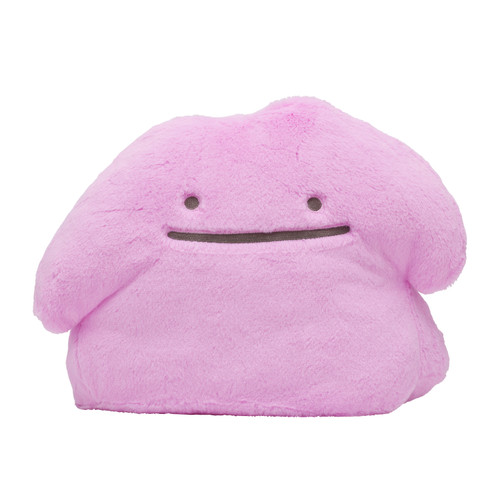 Pokemon Center Original Fluffy Hugging Plush Doll Ditto