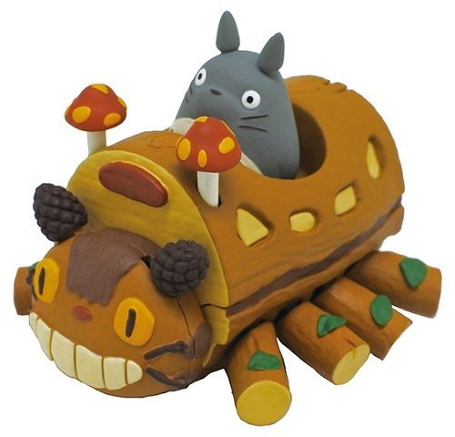 Ensky Pull Back Collection Studio Ghibli My Neighbor Totoro Catbus