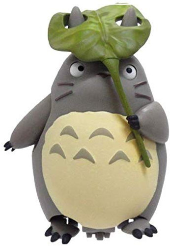 Ensky Pull Back Collection Studio Ghibli My Neighbor Totoro Totoro with Leaf Umbrella