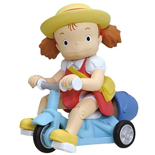Ensky Pull Back Collection Studio Ghibli My Neighbor Totoro Mei on Tricycle