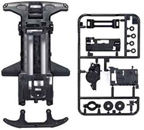 Tamiya 95127 Super TZ-X Reinforced Chassis (Black) Fully Cowled 25th Anniv.