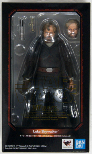 Bandai S.H. Figuarts Luke Skywalker Battle of Crait Ver. (Start Wars The Last Jedi)