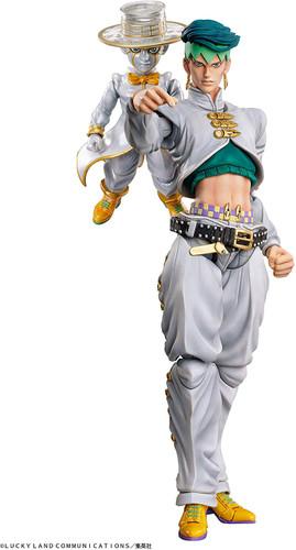 Medicos Super Action Statue Kishibe Rohan & Heaven's Door Figure (Jojo's Bizarre Adventure Part 4: Diamond is Unbreakable)