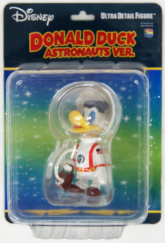 Medicom UDF-487 Ultra Detail Figure Disney Series 8 Astronaut Donald Duck (Vintage Ver.)